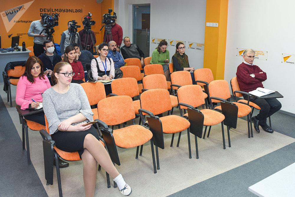 Пресс-конференция посвященная 190-летию Туркманчайского мирного договора