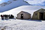 Alpinistlərin itkin düşdüyü ərazidən fotoreportaj