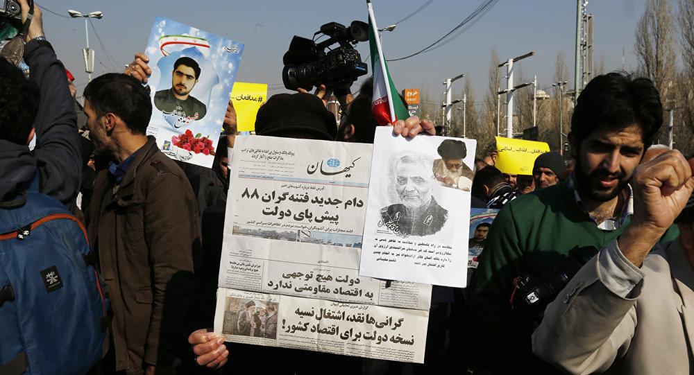 Беспорядки в Иране, фото из архива