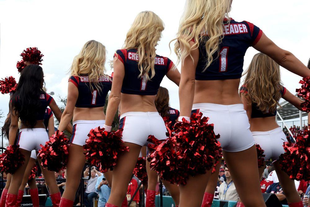 Девушки из группы поддержки Houston Texans