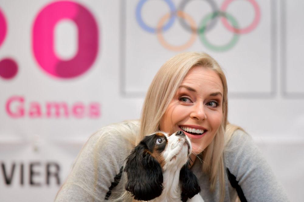 Американская горнолыжница, олимпийская чемпионка 2010 года Линдси Вонн