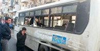 ДТП с участием маршрутного автобуса в Баку, архивное фото