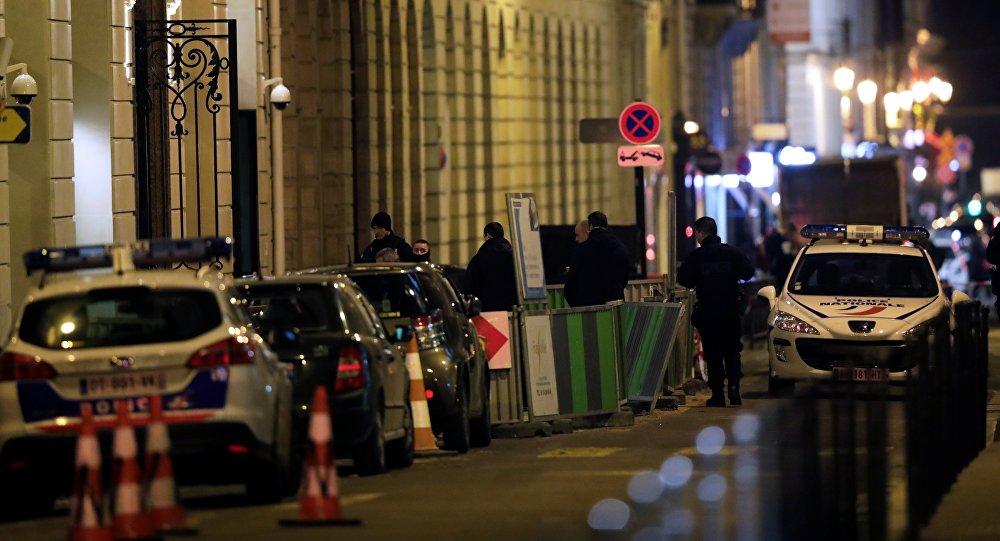 Fransız poılisi oğurluq baş verən ərazidə, 10 yanvar 2018-ci il