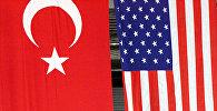 Türkiyə və ABŞ bayraqları
