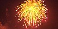 Салют из крупнейшего снаряда освятил небо над ОАЭ