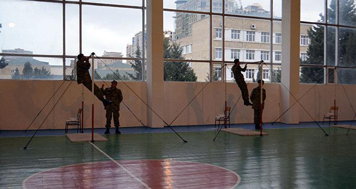 С личным составом Азербайджанской Армии проводятся тестовые экзамены для присвоения классной квалификации
