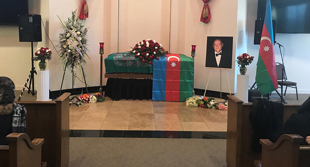Церемония прощания с известным азербайджанским пианистом, народным артистом Азербайджана Чингизом Садыховым