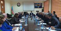 Подписание протокола о намерениях между Институтом географии НАНА и ОАО Azərkosmos