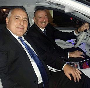 Bolqarıstanın Baş naziri Boyko Borisov və Azərbaycan prezidenti İlham Əliyev