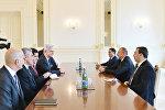 Встреча президента Азербайджана Ильхама Алиева с делегацией Великого национального собрания Турции