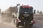 Türkiyəyə aid hərbi texnika Suriya ilə sərhədə doğru hərəkət edir