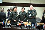 Начальник Генштаба ВС Азербайджана, генерал-полковник Наджмеддин Садыков принял участие в заседании НАТО