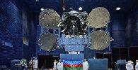 Кадры с подготовительного этапа спутника Azerspace-2