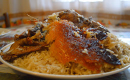 Рецепт дошеме плов с дикой уткой из Лянкярани