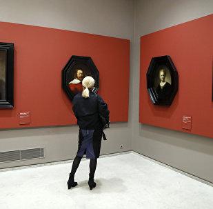 Rembrandta aid rəsm əsərləri