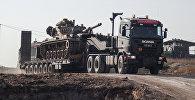 Военная техника Турции на границе с Сирией, фото из архива