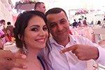 Певица Севда Саналиева с мужем
