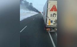 52 человека сгорели в автобусе в Казахстане