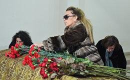 Церемония прощания с народным артистом Азербайджана Беюкагой Мамедовым