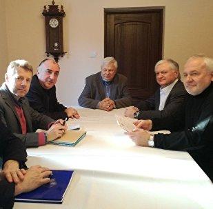 Встреча глав МИД Азербайджана и Армении с сопредседателями Минской группы ОБСЕ