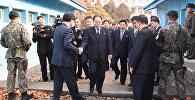 Встреча глав делегаций Северной и Южной Кореи