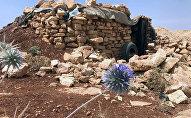 Место базирования террористов Джебхат-ан-Нусра в горном районе Эрсаль на ливано-сирийской границе в долине Увейни, фото из архива