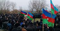 Похороны солдата ВС Азербайджана Ибрагима Менефова