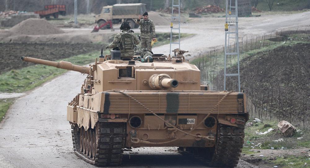 Армия Турции начала операцию против сирийских курдов