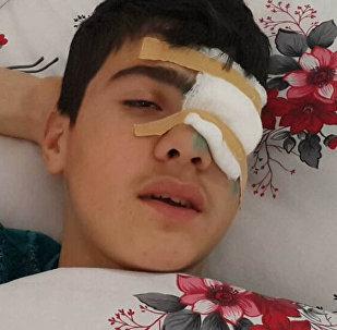 Халил Аллахгулиев, раненый в результате вооруженного инцидента