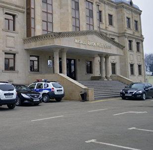 Masallı rayon Polis Şöbəsinin binası