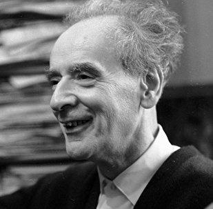 Академик Лев Ландау в 1967 году