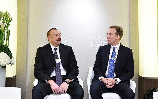 Встреча Ильхама Алиева свице-президентом Еврокомиссии поэнергосоюзу пройдет вДавосе