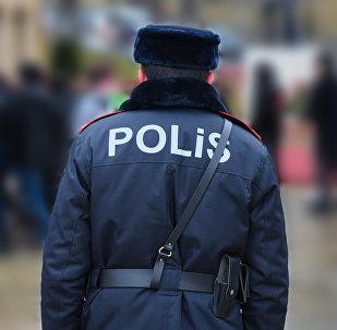 Bakıda polis, arxiv şəkli