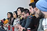 Пресс-конференция организатора мероприятия Семь красавиц Парваны Мамедовой