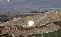 Hatay ərazisindən kürd mövqelərinə artilleriya atəşi, 19 yanvar 2018-ci il
