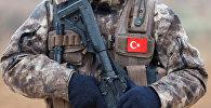 Türk hərbi polisi Suriyada