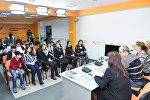 Пресс-конференция, приуроченная к десятилетию театрального отделения Гимназии искусств при Азербайджанской национальной консерватории