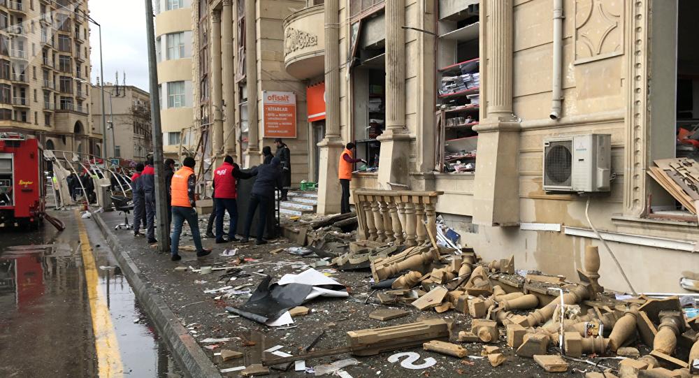 Встолице Азербайджана произошел пожар вжилом доме— информация овзрыве неподтвердилась