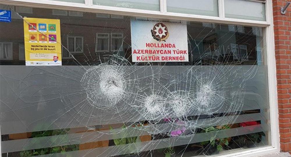 Niderlandın Haaqa şəhərində Azərbaycan diaspor təşkilatının ofisinə basqın