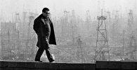 Азербайджанский композитор Кара Караев на прогулке, фото из архива