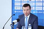 Генеральный секретарь АФФА Эльхан Мамедов