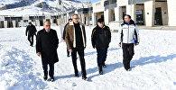 Президент Ильхам Алиев ознакомился с планами развития зимнего и летнего туризма в Шахдаге