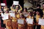 В Гянджинской государственной филармонии прошел третий Кубок Кяпаз-2018 пройдет по сценическим видам танца