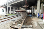 Ремонт окружной железной дороги Баку-Сумгайыт