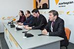 Пресс-конференция посвященная Дню молодежи Азербайджана