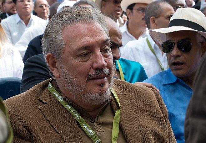 Fidel Kastronun böyük oğlu, Anhel Kastro Dias