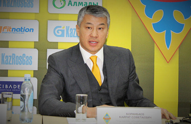Kayrat Boranbayev