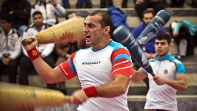 Спортсмен Хаям Оруджев