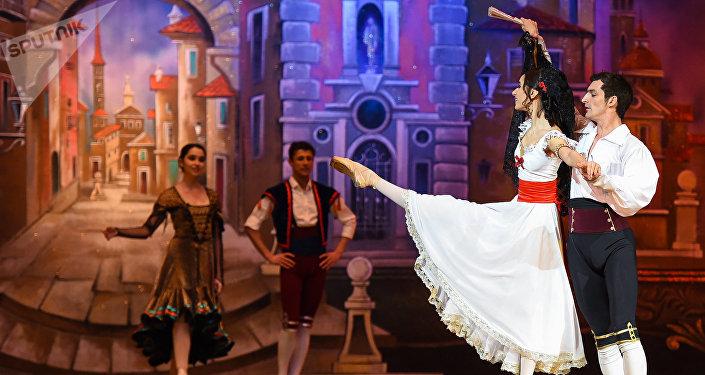Генеральная репетиция балета Гойя