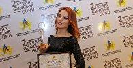 Актриса Азербайджанского государственного музыкального театра Айдан Гасанова удостоена номинации Самая молодая актриса 2018